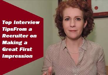Interview Tips to Help You Make a Great First Impression!