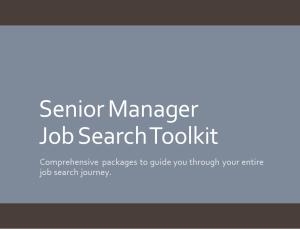 Senior Manager Toolkitv2