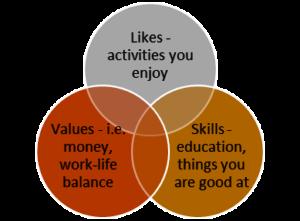 Career path venn