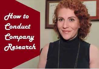 How to Conduct Company Research for your Job Search