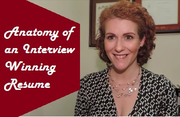 Anatomy of an Interview Winning Resume